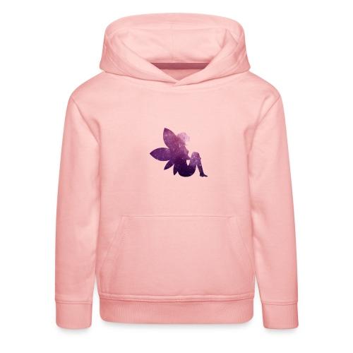 Purple fairy - Premium Barne-hettegenser
