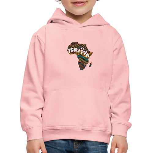 Africa - Ifriqya - Pull à capuche Premium Enfant