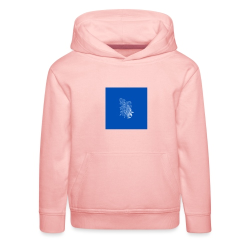 Windy Wings Blue - Kids' Premium Hoodie