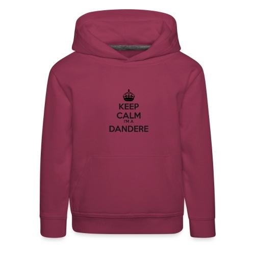 Dandere keep calm - Kids' Premium Hoodie
