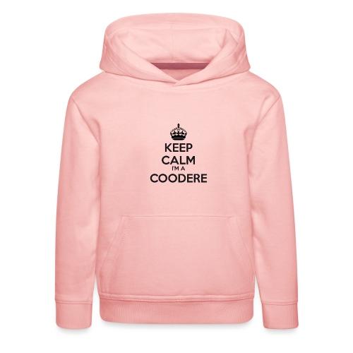 Coodere keep calm - Kids' Premium Hoodie