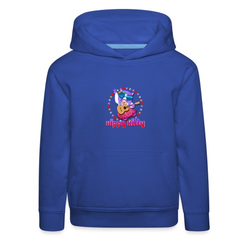 Hippy Kitty - Felpa con cappuccio Premium per bambini