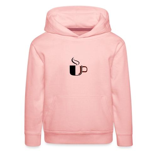 JU Kahvikuppi logo - Lasten premium huppari