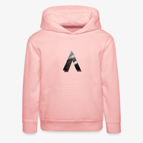 A for Arctic - Pull à capuche Premium Enfant