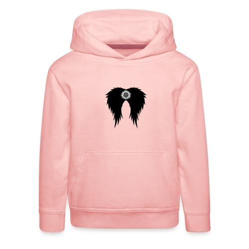 Supernatural wings (vector) Hoodies & Sweatshirts - Kids' Premium Hoodie