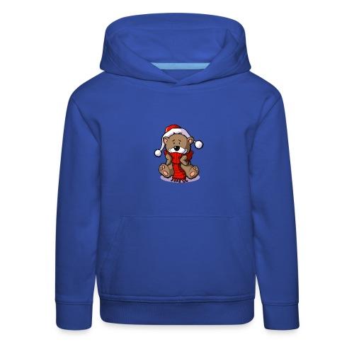 vl080b_winterbaer_4c - Kinder Premium Hoodie