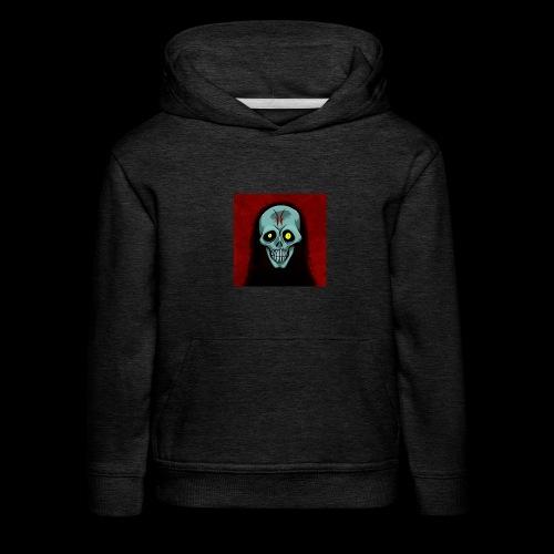 Ghost skull - Kids' Premium Hoodie