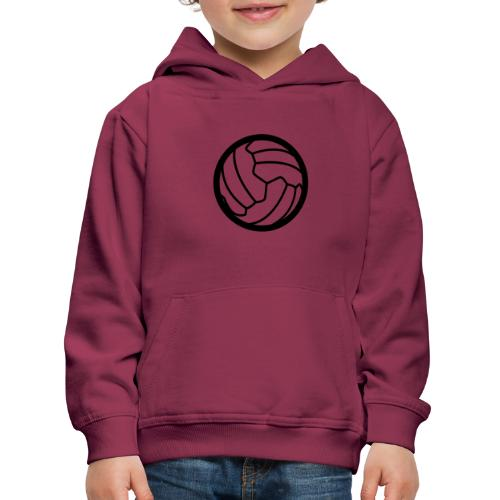I <3 football! - Pull à capuche Premium Enfant