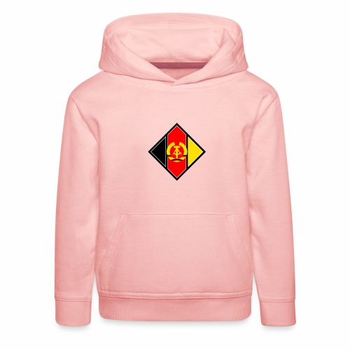 DDR coat of arms stylized - Kids' Premium Hoodie