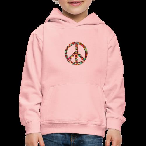 Flowers children - peace - Kids' Premium Hoodie