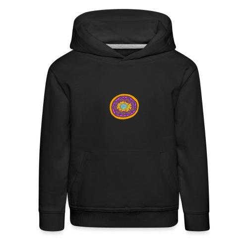Mandala Pizza - Kids' Premium Hoodie