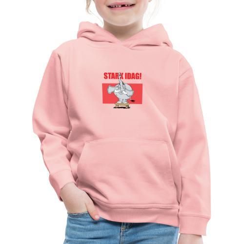Stark idag - Premium-Luvtröja barn