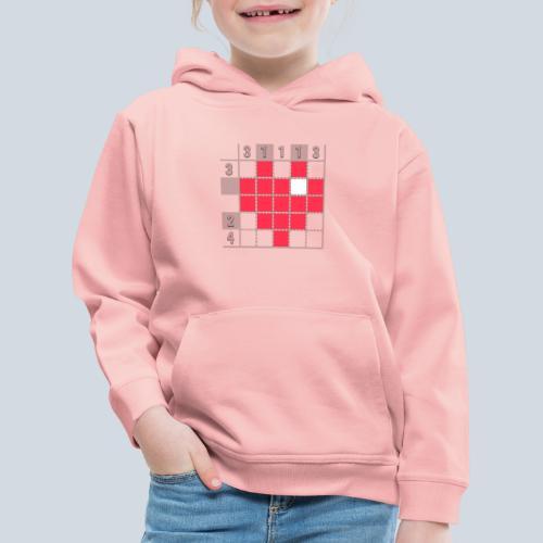 Heart Tshirt Women - Pull à capuche Premium Enfant