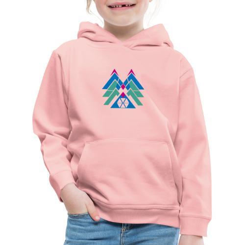 M e m astratte - Felpa con cappuccio Premium per bambini