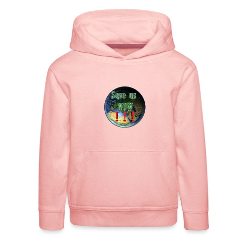 save us earth friday for future - Kids' Premium Hoodie