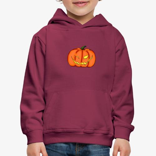 citrouille - Pull à capuche Premium Enfant