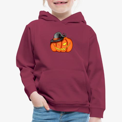 citrouille chapeau - Pull à capuche Premium Enfant