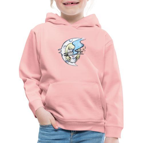Mysterious Moon Lady - Kinder Premium Hoodie