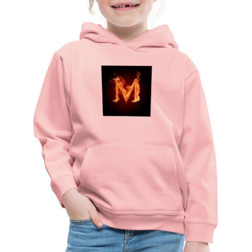Old logo Kinderen Kleding - Kinderen trui Premium met capuchon