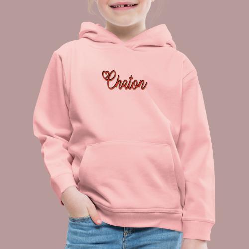 Chaton - Pull à capuche Premium Enfant
