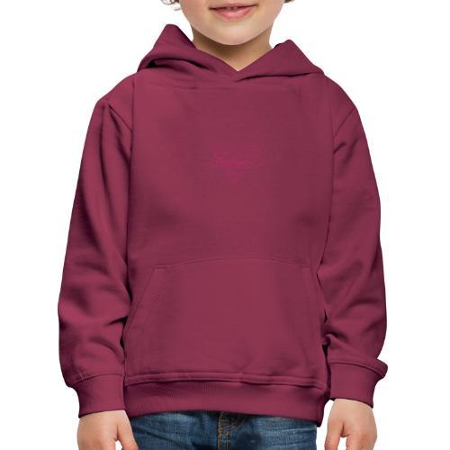 In kalk letters - Pull à capuche Premium Enfant