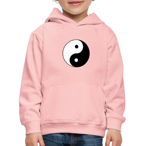 800px Yin yang svg 1 - Kinder Premium Hoodie