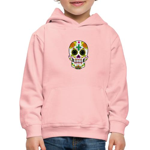 skull4 - Felpa con cappuccio Premium per bambini