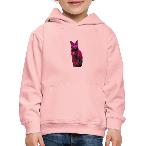 Gatto - Felpa con cappuccio Premium per bambini