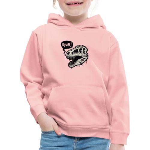 DINO RAWR 1 - Sudadera con capucha premium niño