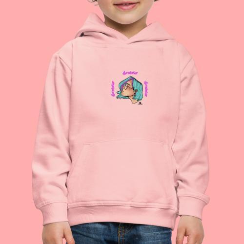 Lynioka Purple Up - Pull à capuche Premium Enfant