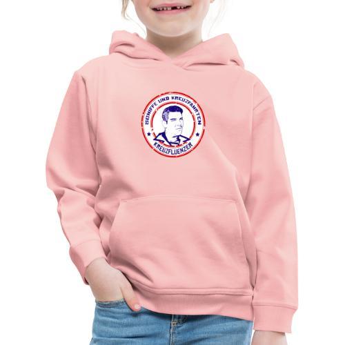 Kreuzfluenzer - Rettungsring Design (weiss) - Kinder Premium Hoodie