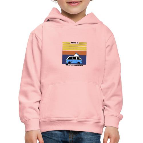 Van Life - Felpa con cappuccio Premium per bambini
