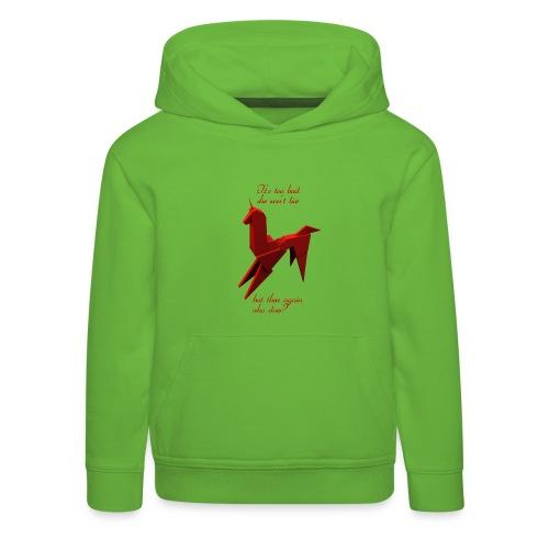 UnicornioBR2 - Sudadera con capucha premium niño
