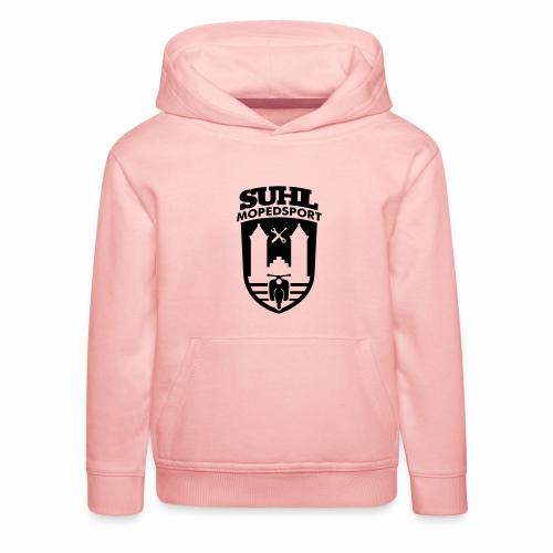 Suhl Mopedsport Schwalbe 2 Logo - Kids' Premium Hoodie