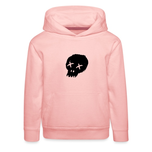 blackskulllogo png - Kids' Premium Hoodie
