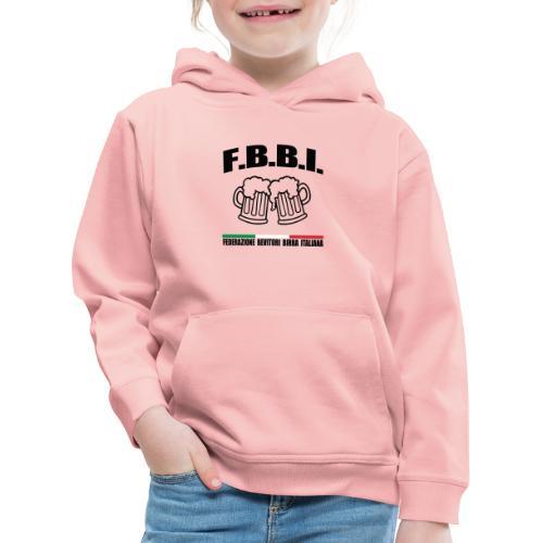 FBBI - Felpa con cappuccio Premium per bambini