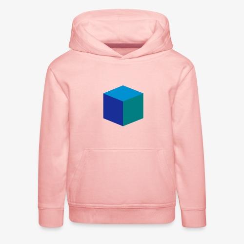 Cube - Premium Barne-hettegenser