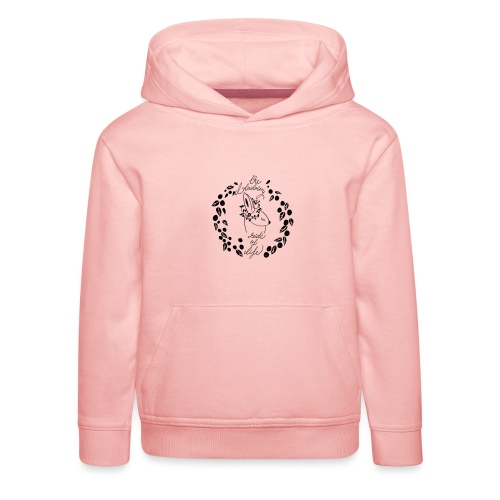 The blueberry side of life bunny - Kinder Premium Hoodie