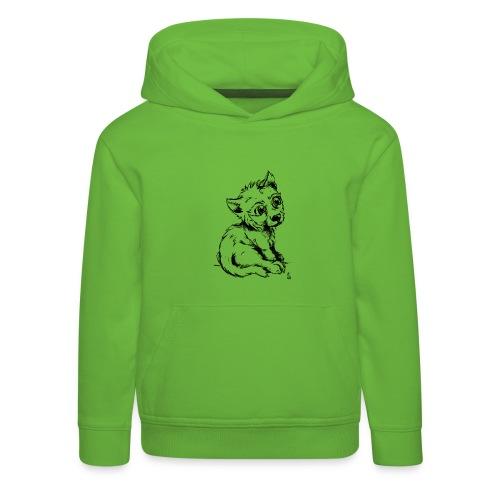 Louvetau - Pull à capuche Premium Enfant