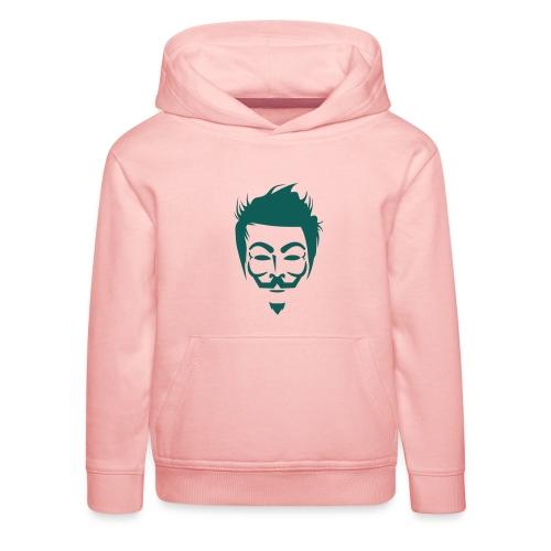 Anonymous Hipster - Pull à capuche Premium Enfant