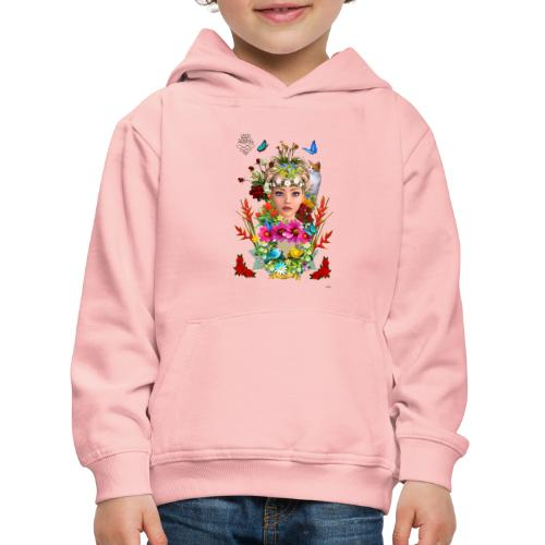 Lady spring - By t-shirt chic et choc - Pull à capuche Premium Enfant