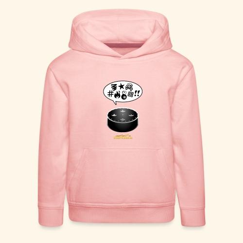 lustiges T-Shirt-Design Alexa flucht - Kinder Premium Hoodie