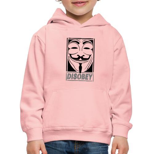 disobey - Premium hættetrøje til børn