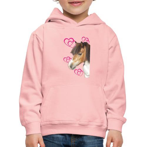 Hästälskare (Bella) - Premium-Luvtröja barn