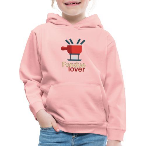 Fondue lover - Kinder Premium Hoodie