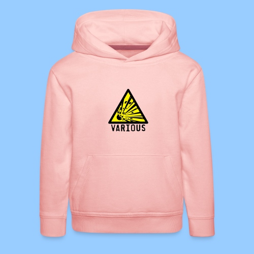 VariousExplosions Triangle (2 colour) - Kids' Premium Hoodie