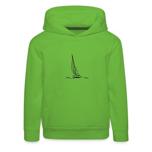 Segelboot - Kinder Premium Hoodie