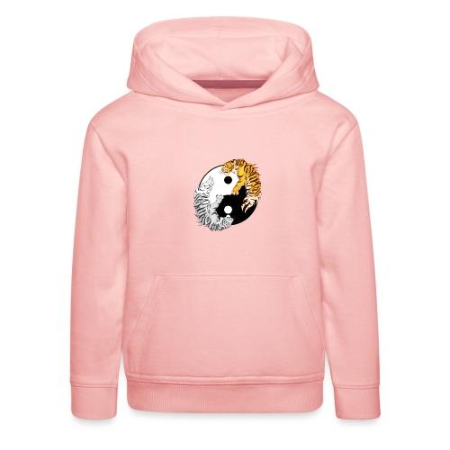 Yin & Yang Tigers - Bluza dziecięca z kapturem Premium