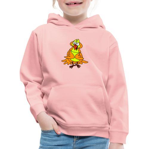 Vogel Nr 3 von dodocomics - Kinder Premium Hoodie