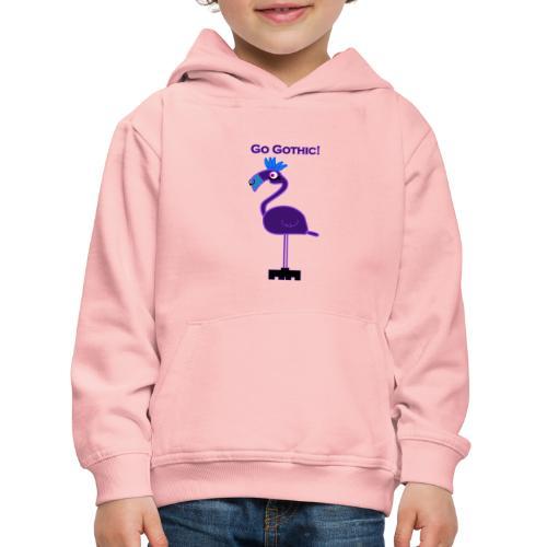 Go Gothic Dark Flamingo! - Lasten premium huppari